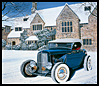 '32 Zephyr at the Edsel Ford Estate